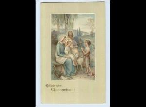 P3E99/ Weihnachten Christkind Litho AK 1910