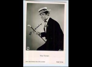 "P3H91/ Vico Torriani Autogramm in ""Gitarren der Liebe"" Rüdel Foto AK ca.1960"