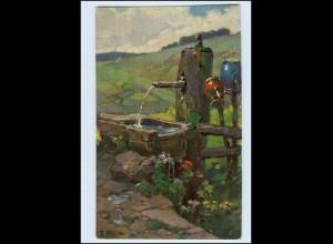 P3K81/ Schwarzwald-Quellen von Fr. Reiss AK Joh. Elchlepp ca.1912