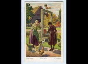 P3M52/ Frau Holle Märchen AK Brüder Grimm ca.1925