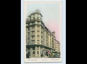 P3X15/ Santander Hotel Rex Spanien AK ca. 1950
