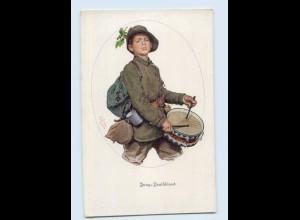 DP33/ Jung-Deutschland Junge mit Trommel - WK1 Rotes Kreuz 1915