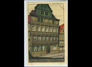W0L19/ Hann. Münden schöne Steinzeichnung Litho AK ca.1912
