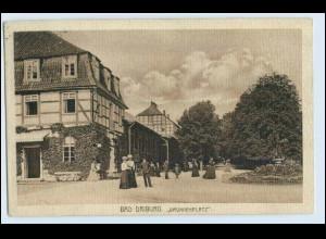 W0L93/ Bad Driburg Brunnenplatz AK 1912
