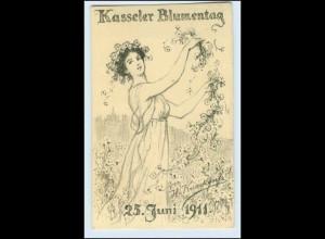 W0L49/ Kassel Blumentag Margeretentag 1911 schöne AK