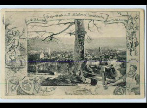 W0Q23/ Hann. Münden II. Mündener Heimatfest 1909 AK