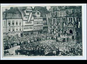 W0L11/ Hann. Münden 2. Mündener Heimatfest 1909 Gesangs-Aufführung