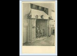 W1K79/ Basel Raumkunst Ausstellung 1909 Gewerbe-Museum AK