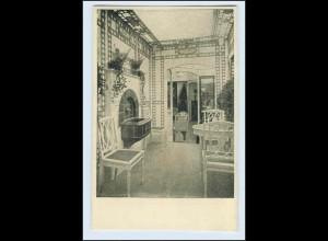 W1K78/ Basel Raumkunst Ausstellung 1909 Gewerbe-Museum AK