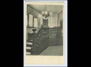 W1K76/ Basel Raumkunst Ausstellung 1909 Gewerbe-Museum AK