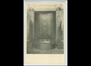 W1K83/ Basel Raumkunst Ausstellung 1909 Gewerbe-Museum AK