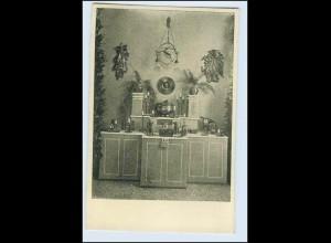 W1K81/ Basel Raumkunst Ausstellung 1909 Gewerbe-Museum AK