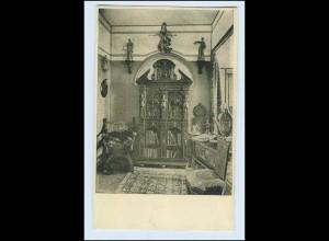 W1K82/ Basel Raumkunst Ausstellung 1909 Gewerbe-Museum AK