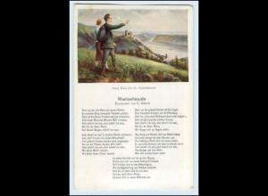 W2D01/ Rheinlieder AK Rheinsehnsucht ca.1920 Lieder