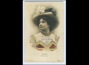 W2J32/ Delbarre (Folies-Bergere) Cliche Walery Foto Ak ca.1900