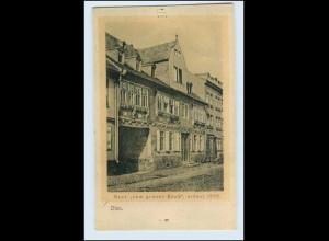 W2P66/ Diez Haus Zum grünen Baum AK 1906