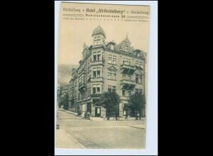 """W2N26/ Heidelberg Hotel """"Alt-Heidelberg"""" AK"""