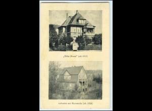 W2Q12/ Bad Soden Villa Braun AK ca.1935