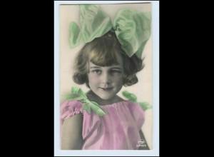 W2J94/ Hübsches Mädchen Kind Foto AK ca.1912