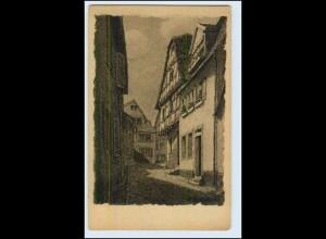 W2S20/ Neckargemünd Pfluggasse Verlag: Karl Kress AK ca.1920