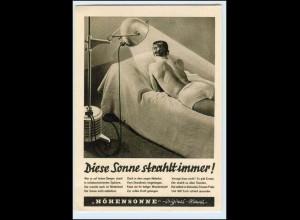 W2X39/ Höhensonne Original-Hanau Reklame AK 1938