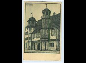 W2S17/ Stadtprozelten Rathaus AK von Alois Leibinger ca.1920