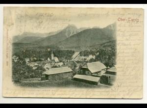 W3L37/ Ober-Tarvis Reliefdruck AK 1899 Italien