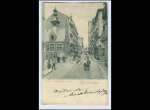 W3E45/ Blankenberghe Hotel de Ville AK 1903