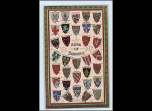 W3M54/ Arms of Schools Wappen Studentika AK ca.1912