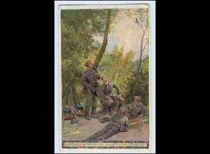 W3E77/ Paul Hey Unsere Feldgrauen 1. Weltkrieg AK 1916