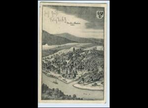 W3V15/ Neckargemünd im Jahre 1646 AK 1907