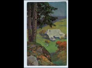 W3P98/ Fr. Reiss Herbst im Schwarzwald Verlag: Elchlepp 1912