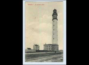 W5M32/ Ostende Leuchtturm AK Belgien ca.1910