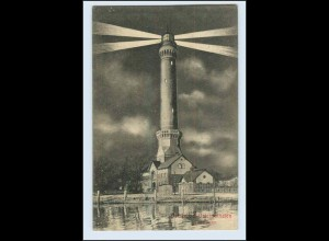W5M33/ Ostseebad Osternothafen Leuchtturm AK Pommern ca.1912