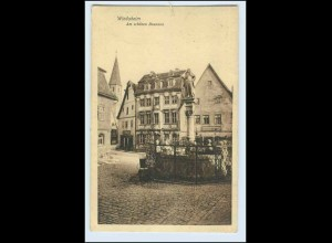 W5P56/ Bad Windsheim Am schönen Brunnen AK