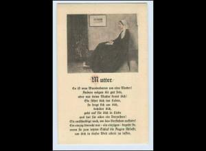 W5S26/ Muttertag schöne AK Bunte Reihe Nr. 1 ca.1930