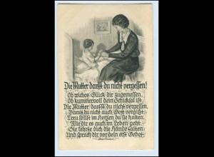 W5S23/ Muttertag Mutter und Kind ca.1930 Bunte Reihe Nr. 227 AK