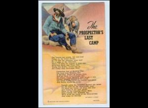 W5P05/ The Prospector`s last Camp USA AK Esel Donkey 1944