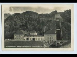 W5R15/ Kochel am See Walchenseewerk Wasserwerk Foto AK ca.1930