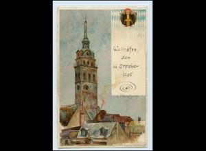 W5S86/ München Künstler AK Kley Litho ca.1905