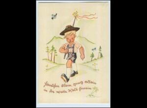 W6G18/ Schöne Kinder AK von B. Straub 1941 Wandern