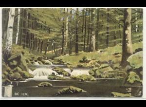 z6837/ Die Ilse - Tuck`s AK Harz-Serie ca.1910