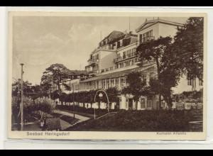 z6558/ Seebad Heringsdorf Usedom Kurhotel Atlantic AK 1929