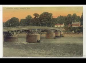 z1785/ Newport Mon. Chepstow Bridge AK Wales ca.1910
