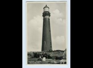 E267/ Leuchtturm Vuurtoren - Eierland Foto AK Niederlande 1933