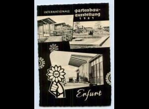 X1P75/ Erfurt Int. Gartenausstellung 1961 AK
