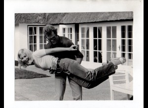 F6420/ Heidi Kussin + Michael Iwand Foto ca.1975 24 x 18 cm