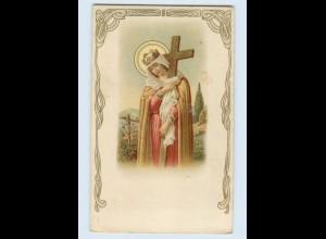 F287/ Religion schöne Litho AK Jugendstil ca.1910
