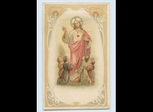 F288/ Religion Jesus und Kinder schöne Litho AK Jugendstil ca.1910