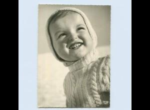 X1Q63/ Verlag Popp Kind lacht ca.1965 Foto AK